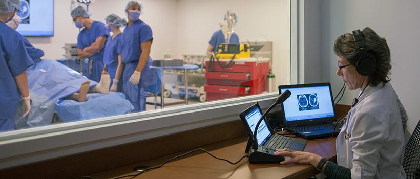 Cedar Crest Nursing Home >> Institutional Advancement Nursing Simulation Suite In The Hamilton